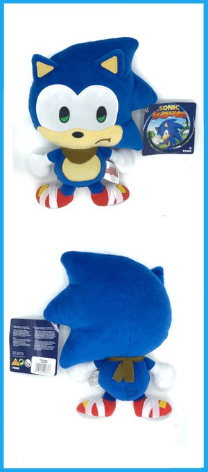 NEW! Small Novelty Sonic The Hedgehog stuffed toy soft plush movie kids sega video games anime for Sale in Carson, CA