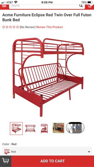 Twin over full bunk bed for Sale in Pflugerville, TX