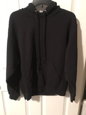 Men's Black Fruit of The Loom Pullover Hoodie for Sale in Dallas, TX