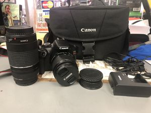 Camera , Electronics Canon T6 With 2 Lens & Charger w/ Case for Sale in Baltimore, MD
