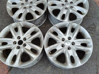 Jaguar X-type 17 inch aluminum wheels. 5 on 108mm for Sale in Pico Rivera,  CA