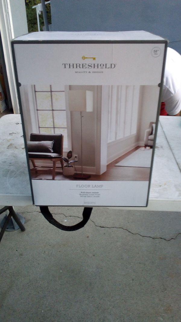 Threshold - floor lamp pull chain switch
