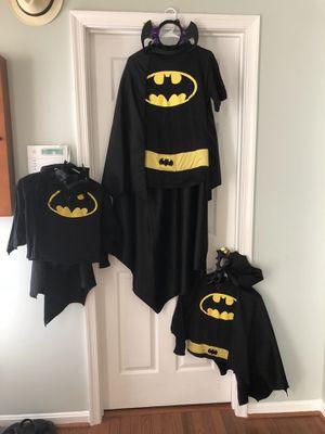 Batman trio costumes set for Sale in Manassas, VA