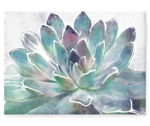 """Beautiful Large Succulent Hand Embellished Canvas Wall Decor 36""""x1.5""""x26"""" for Sale in Phoenix, AZ"""