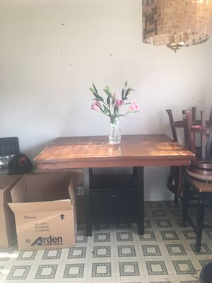Large kitchen set 2 matching chair for Sale in Normal, IL