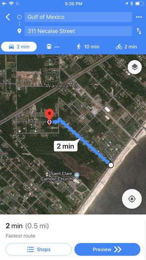 Blocks to gulf beaches WaveLand with shed for Sale in Waveland, MS