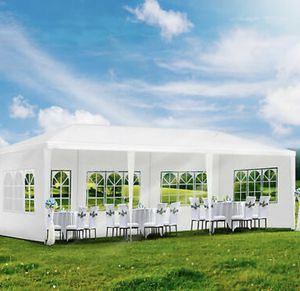 Gazebo Canopy Tent Party Wedding Outdoor Pavilion Cater BBQ Waterproof 10'x30' Gazebo (New) for Sale in West Hollywood, CA
