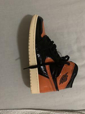 Jordan 1 shattered backboard for Sale in Douglasville, GA