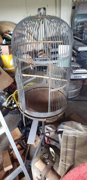 Big metal bird cage for Sale in Hillsboro, OR