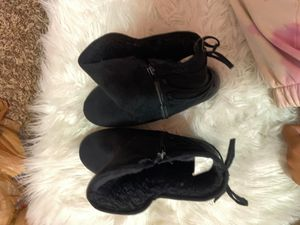 size 4 black boots for Sale in Lacey, WA