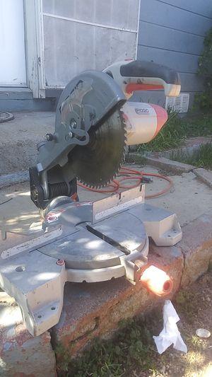 Ridgid chop saw for Sale in Payson, AZ