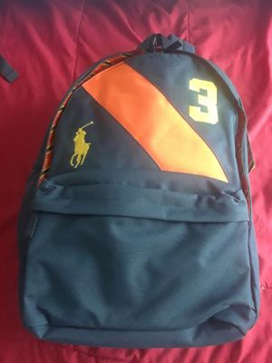 Polo ralph lauren backpack for Sale in Evesham Township, NJ