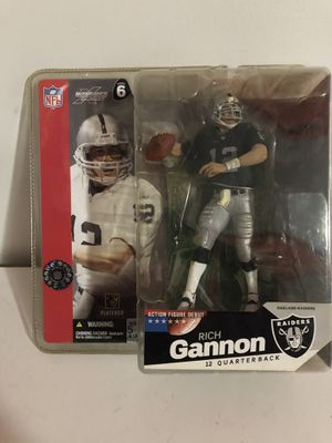 Rich Gannon Macfarlane action figure! for Sale in Odenton, MD