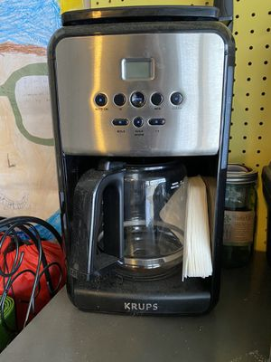 Krups Coffee Maker for Sale in Gaithersburg, MD