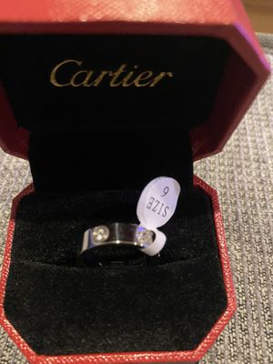 Cartier Ring size 6 with stone- New with Box for Sale in Los Angeles, CA
