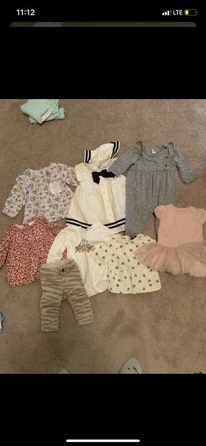 3-6m baby girl clothes for Sale in Forney, TX