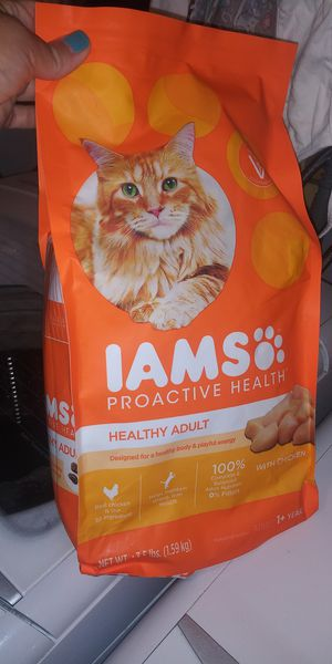 Cat food Iams brand for Sale in Melbourne, FL