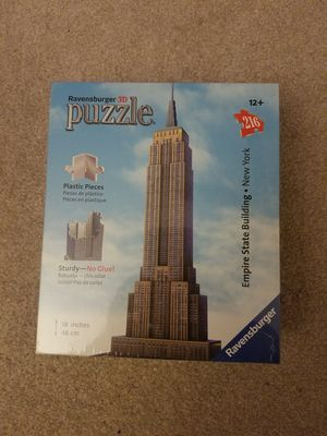 Empire state Buliding Puzzle for Sale in Sterling, VA