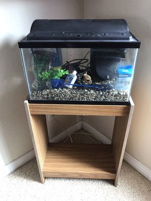 Fish tank and stand for Sale in Anaheim, CA