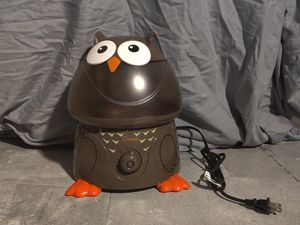 Humidifier (Crane: Owl Ultrasonic Cool Mist Humidifier) for Sale in Brooklyn, NY
