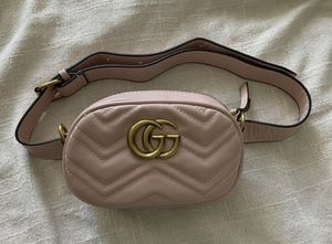 GG Marmont matelassé leather belt bag for Sale in Austin, TX