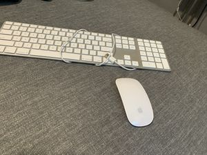 Apple key board and wireless mouse for Sale in Morrisville, PA