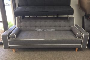 Futon / Sofa Bed, Grey, SKU# MLT7567GRYTC for Sale in Santa Fe Springs, CA