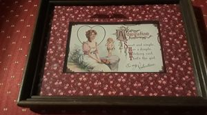 "Absolutely Gorgeous rare old vintage beautifully framed romantic Valentine postcard. 9""×7"". for Sale for sale  New York, NY"