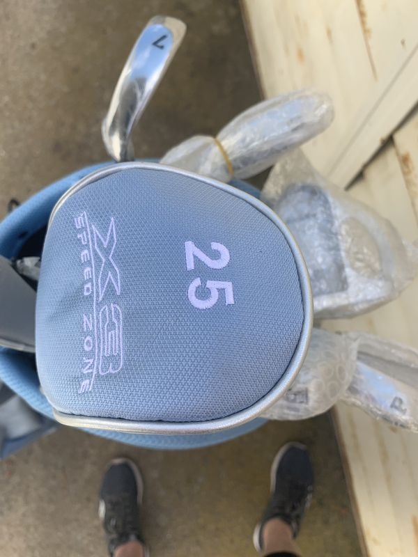 aspire X3 speed Ladies golf clubs and bag