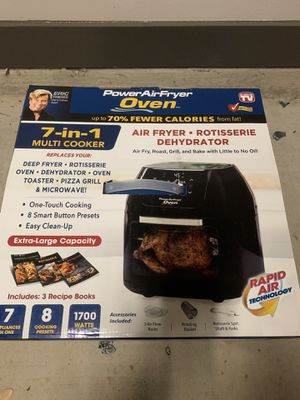Power Air Fryer Oven for Sale in Dallas, TX