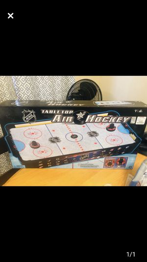 Table top air hockey table for Sale in Irwin, PA