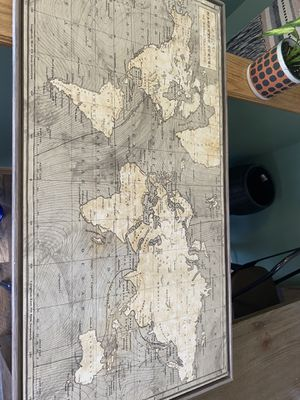 Map/wall art for Sale in Southgate, MI