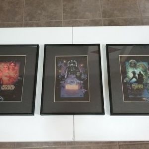 Framed Star Wars Chromart pictures for Sale in Glendale, AZ
