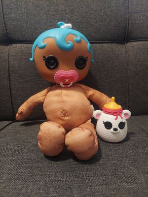 Lalaloopsy Baby Doll, Pacifier and Bottle for Sale in Winterville, NC