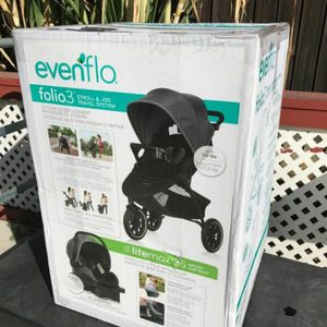 Evenflo Folio3 Stroll And Jog Travel System for Sale in South Gate, CA