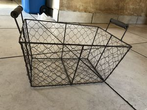 Wire Storage Basket for Sale in National City, CA
