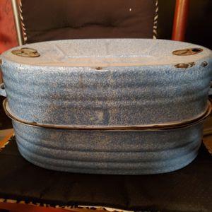 Blue speckled Roaster vintage for Sale in Tacoma, WA