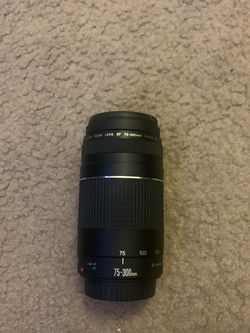 Canon Lens EF 75-300mm for Sale in San Jose,  CA