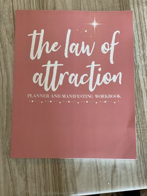 The law of attraction workbook for Sale in Miami, FL