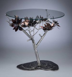 Steel Magnolias End Table for Sale in Washington, DC