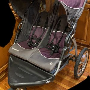 Baby Trend Expedition Double Jogger Stroller, Elixer for Sale in Medford, MA