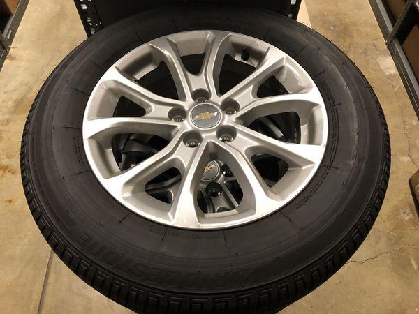 2019 Chevy Equinox wheel take offs