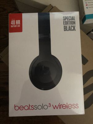 Beats Solo 3 wireless (Black) for Sale in Hollywood, FL