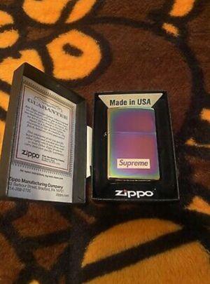 Supreme Zippo for Sale in Seffner, FL