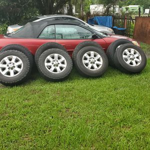 """18"""" rims and tires for Sale in Alafaya, FL"""