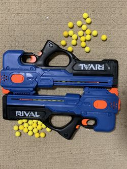 2 Rival Nerf Guns, Motor Powered for Sale in Tracy,  CA