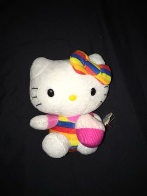 Hello kitty with cupcake plushie for Sale in Hanover, PA