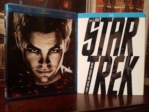 Star Trek Blu-ray 2009 Sci-Fi Movie 3-Disc Special Edition Slip Cover for Sale in Tampa, FL