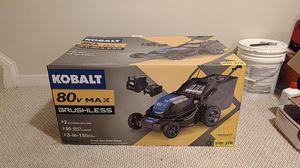 Kobalt 80v electric lawn mower for Sale in Clarksburg, MD