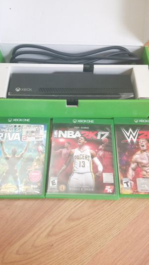 Kinect sports game, NBA 2K 17, WWE 2K 17 for Sale in North Bethesda, MD